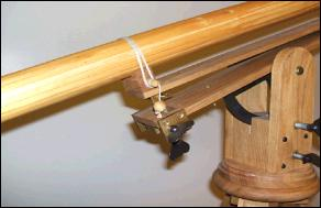 Image: Galileo Telescope Replica (detail)